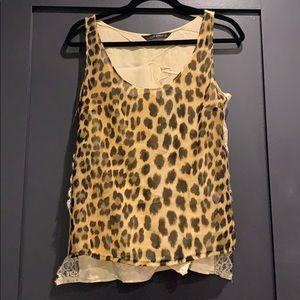 Zara leopard print top